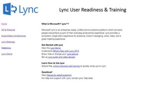 Lync Training 4